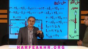 شیوه تدریس استاد کامیار در فیزیک دهم نظام جدید حرف آخر (بجز ویژگی ماده)